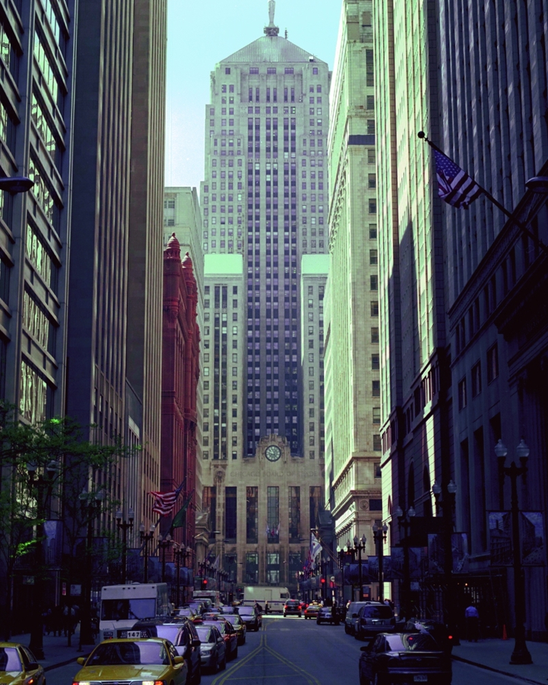 Chicago Board Of Trade Building Chicago Buildings Framed