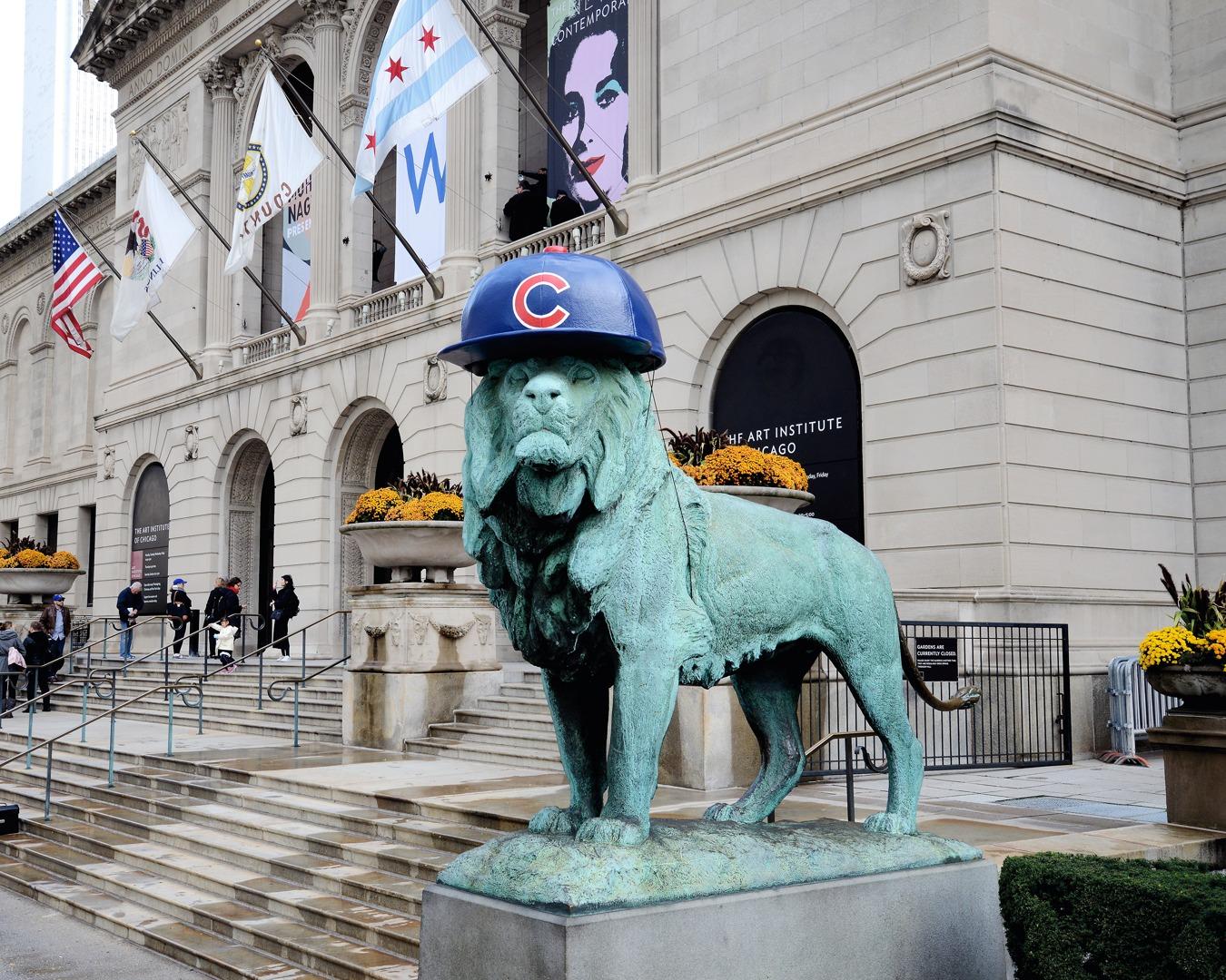 Art Institute Lion Sporting Flat Brimmed Cubs Hat
