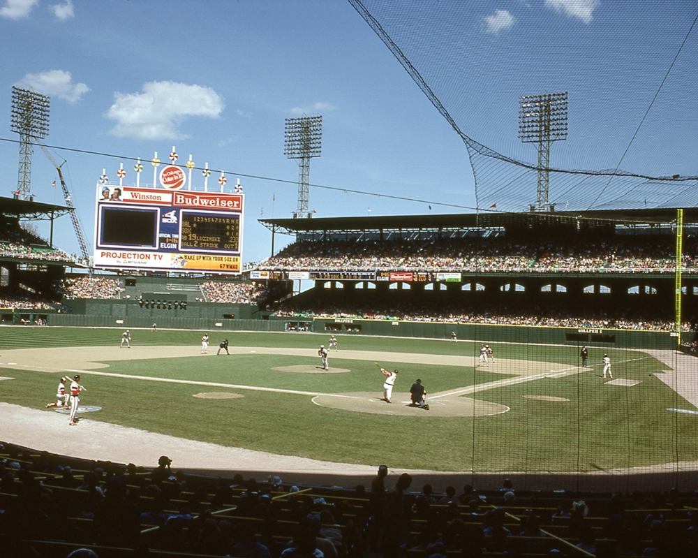 Comiskey Park Chicago White Sox Chicago White Sox