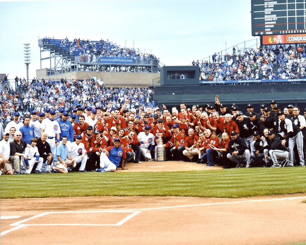 2010 Stanley Cup Blackhawks Championship At Wrigley Field | Chicago ...