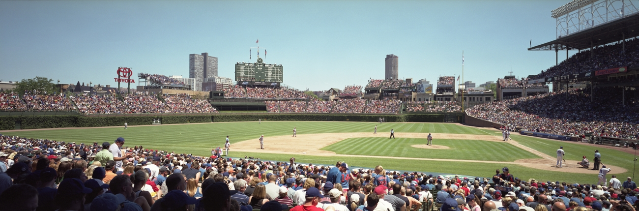 2012 Chicago Cubs Wrigley Field Panorama Chicago Cubs