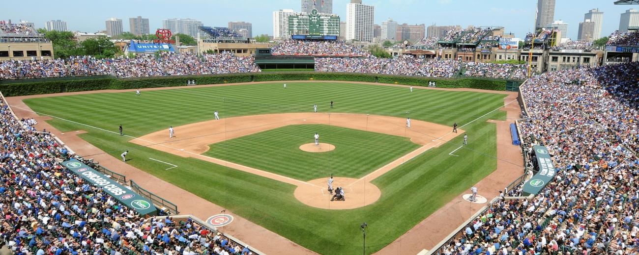 2011 Cubs Vs Yankees Wrigley Panoramic Mlb Stadiums