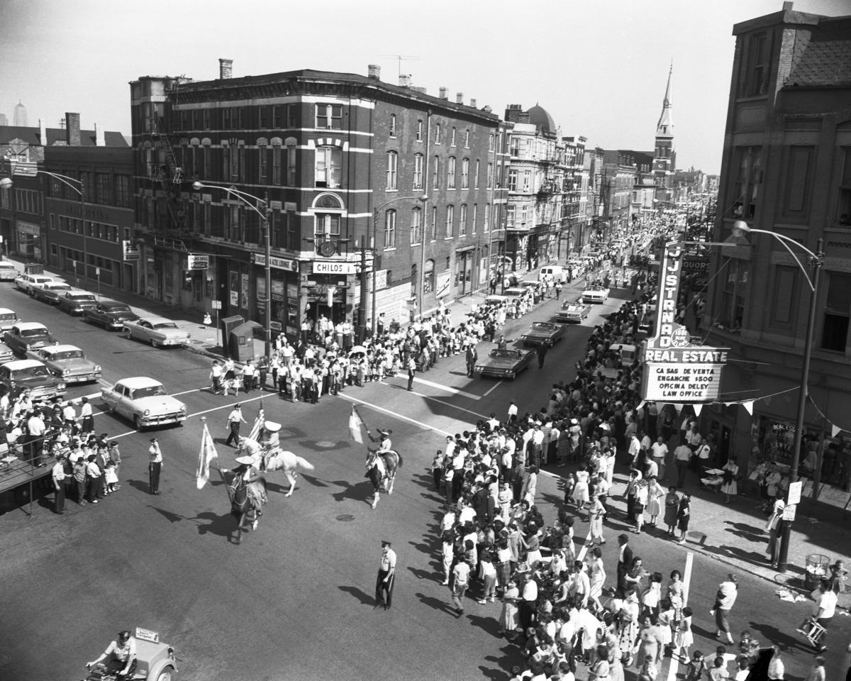 Vintage Pilsen Neighborhood July 4th Parade Chicago