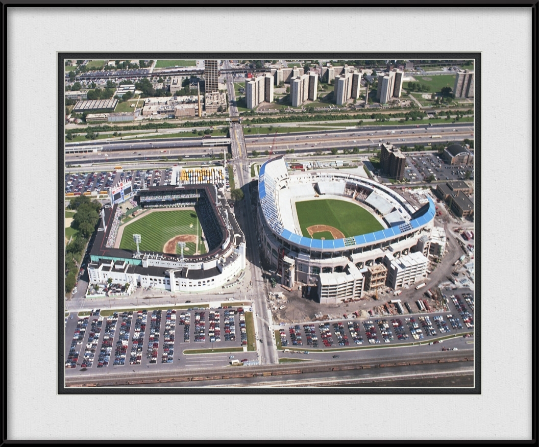 framed-print-of-old-and-new-comiskey-park-aerial-picture