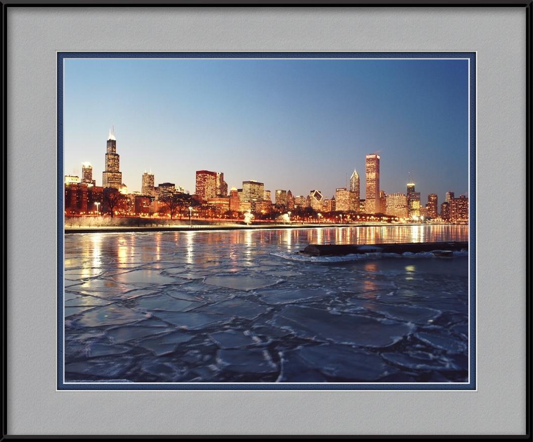 Frozen Lake Michigan Amp Chicago Skyline Chicago Seasons