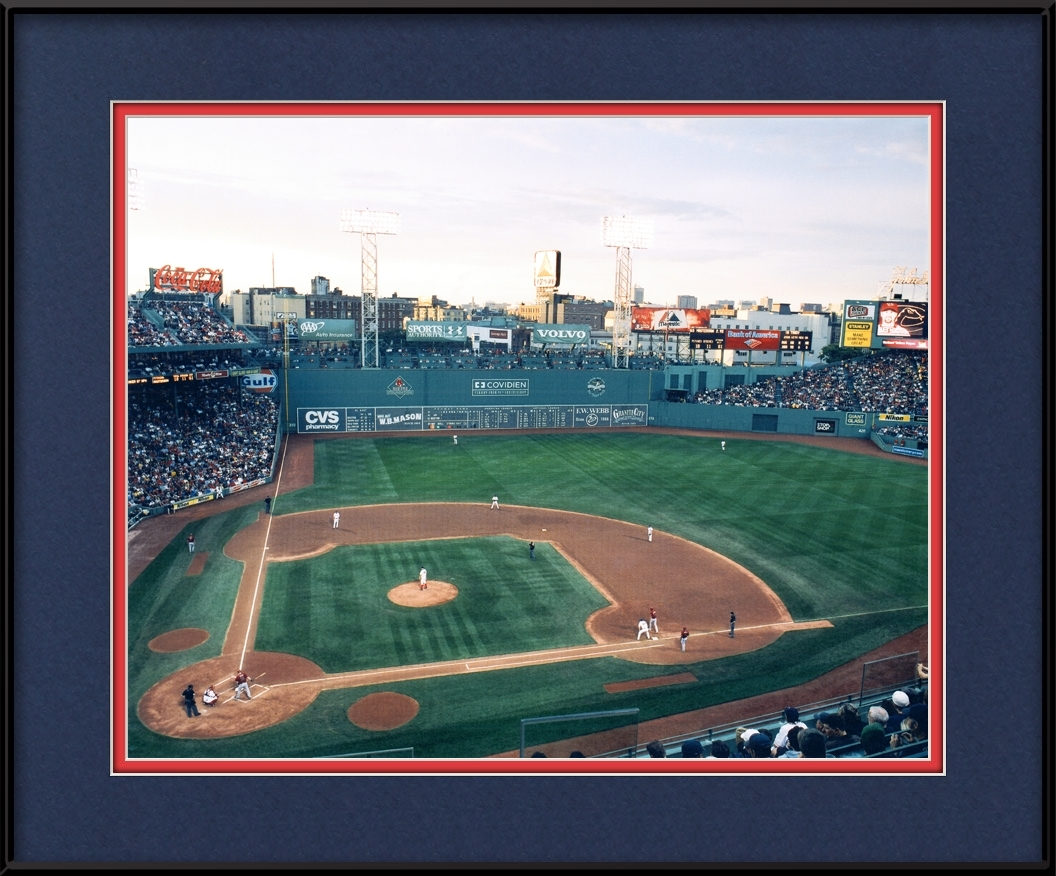 Fenway Park Picture Framed - Boston Red Sox Photo | MLB Stadiums ...
