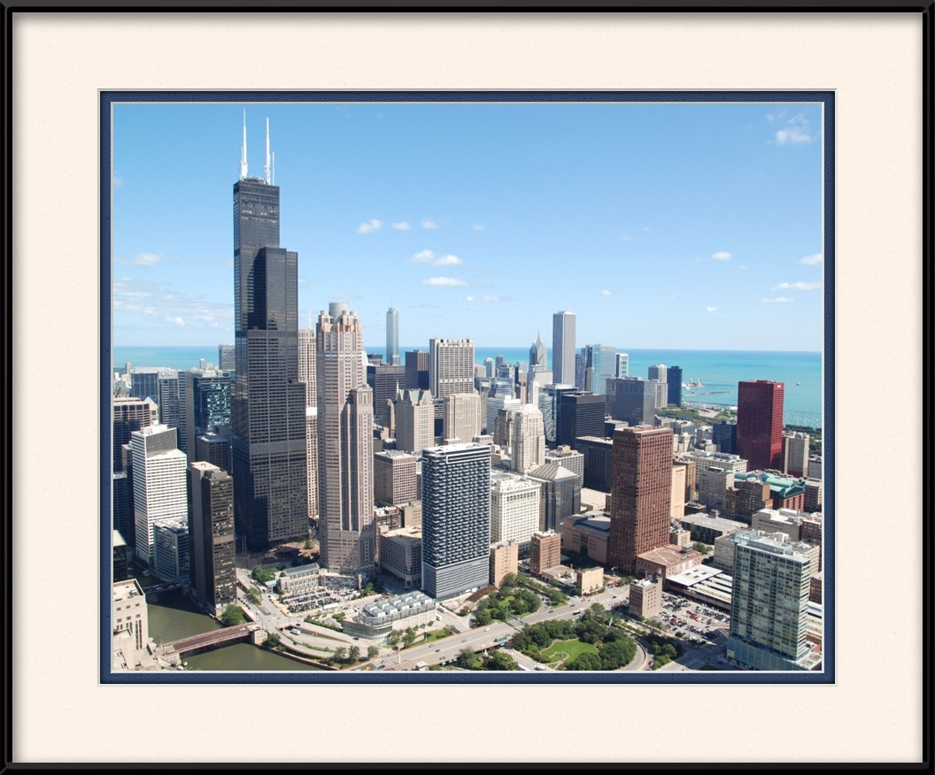 framed-print-of-downtown-chicago-loop-area