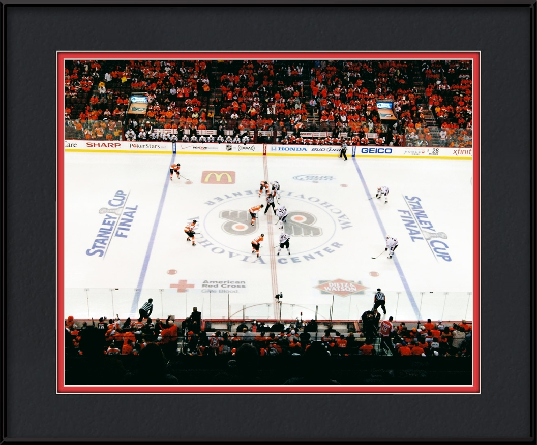 framed-print-of-2010-championship-face-off-game-6