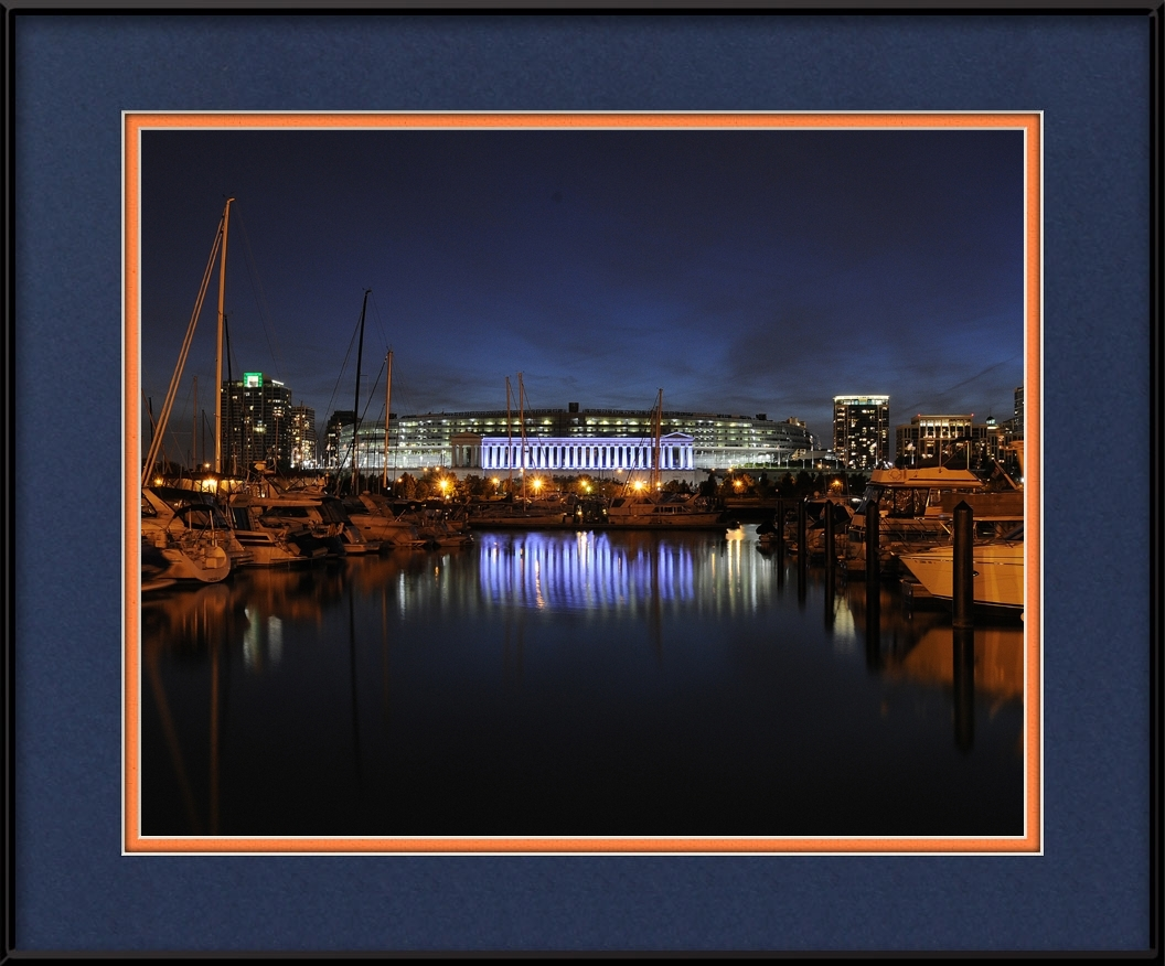 framed-print-of-burnham-park-harbor-bears-stadium