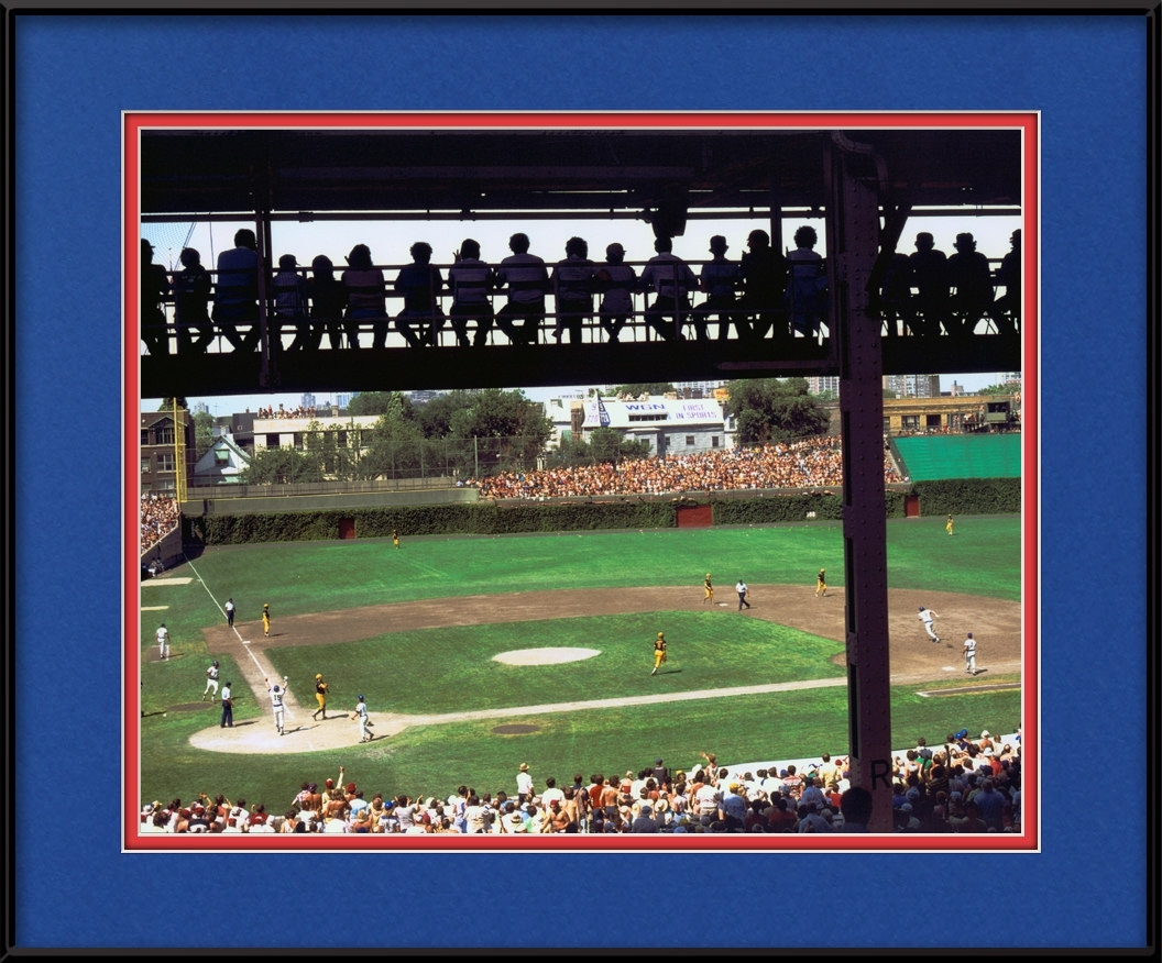 Catwalk At Wrigley Field | Chicago Cubs Framed Print