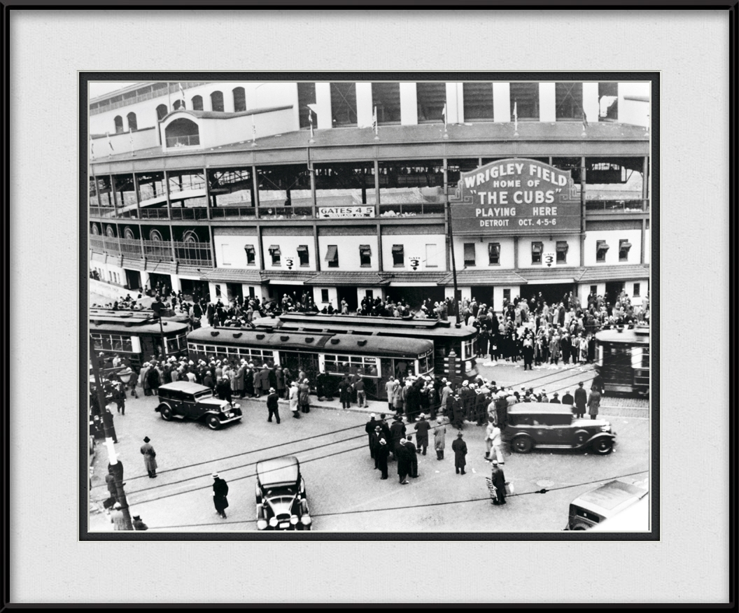 framed-picture-of-vintage-wrigley-field-35-world-series-historical-chicago-cubs-photo