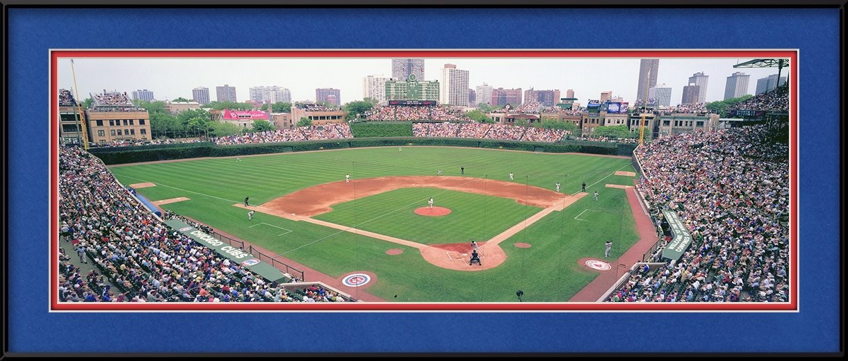 Chicago Cubs Vs Boston Red Sox Wrigley Panoramic View