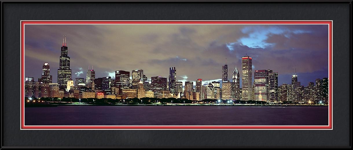 Stanley Is Back Blackhawks Skyline Chicago Blackhawks