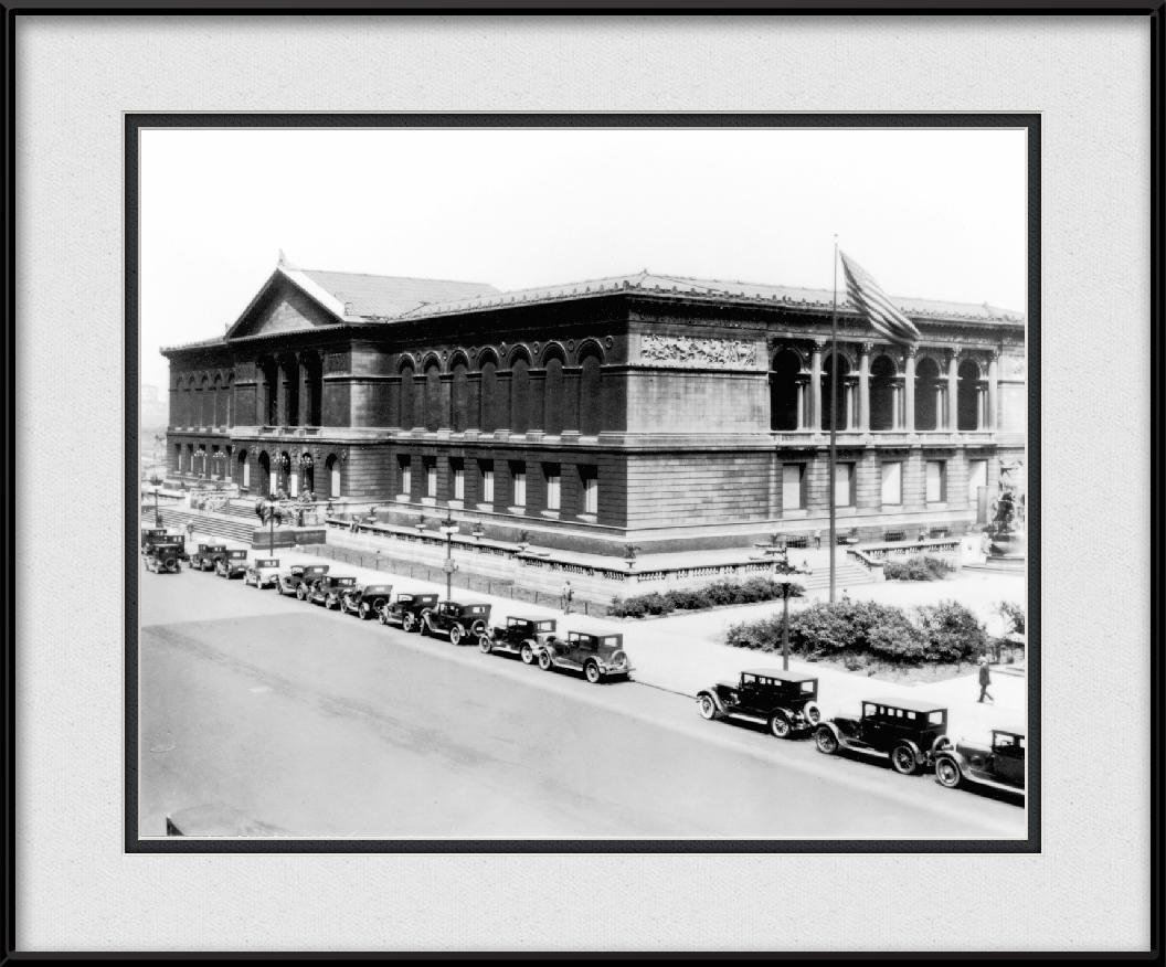 Art Institute Of Chicago - Vintage Black & White   Chicago History ...