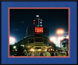 framed-print-of-cubs-night-game-view-from-murphys-bleachers
