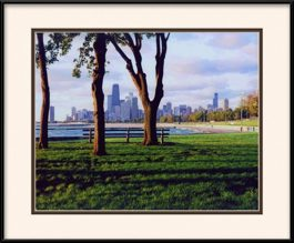 picture-of-chicago-summer-shadows-at-fullerton-lakefront