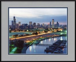 framed-print-of-aerial-of-chicago