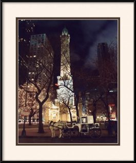 framed-print-of-old-water-tower-in-chicago