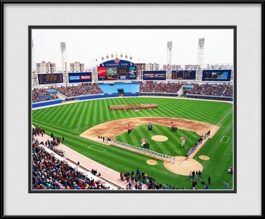 framed-print-of-inaugural-game-at-new-comiskey-park-199