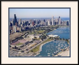 framed-print-of-view-of-soldier-field-and-chicago-skyline
