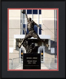 framed-print-of-michael-jordan-statue