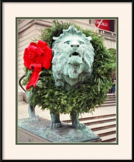 picture-of-art-institute-lion-holiday-wreath