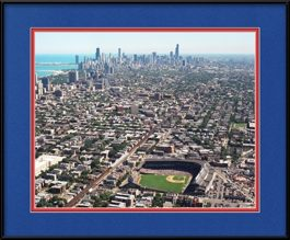 wrigley-field-aerial-with-chicago-skyline-framed-picture