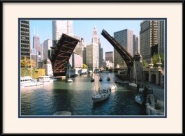 chicago-bridges-chicago-river-framed-picture