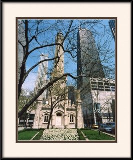 picture-of-chicago-water-tower-john-hancock-building
