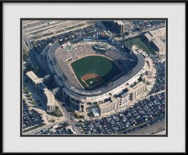 framed-print-of-aerial-us-cellular-field-ballpark