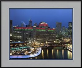 framed-print-of-merchandise-mart-holiday-lights