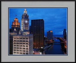 wrigley-building-framed-photo