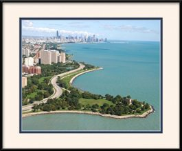 framed-print-of-promontory-point-in-hyde-park-chicago-skyline-view