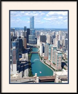 trump-tower-chicago-water-cannon-chicago-river-framed-picture
