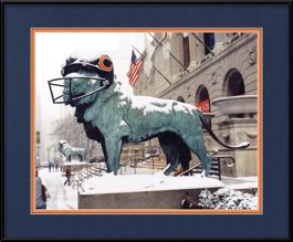 picture-of-bears-helmut-on-art-institute-lion-in-the-snow