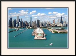 framed-print-of-aerial-of-navy-pier