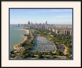 diversey-harbor-chicago-aerial-framed-picture