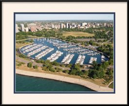 montrose-harbor-aerial-view-framed-picture