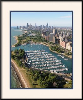 picture-of-aerial-view-of-belmont-harbor-chicago-skyline