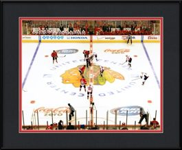 framed-print-of-blackhawks-opener-2013-center-ice