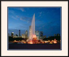 buckingham-fountain-framed-photo
