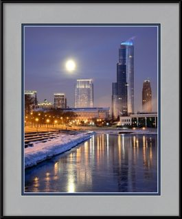 chicago-winter-framed-photo