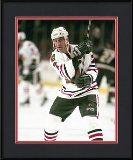 framed-picture-of-chris-chelios-chicago-blackhawks-legend