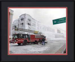 chicago-firehouses-framed-photo