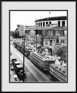 framed-print-of-streets-cars-lined-up-at-old-wrigley-field-ballpark