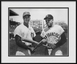 framed-print-of-willie-mays-ernie-banks-vintage-wrigley-field
