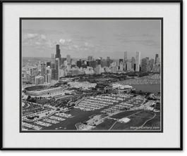 picture-of-chicago-aerial-of-skyline-black-and-white