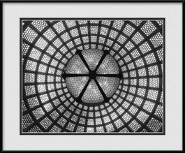 tiffany-dome-chicago-cultural-center-framed-picture