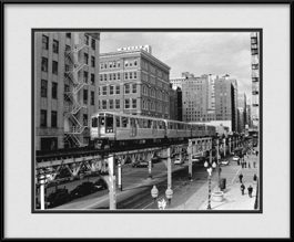 chicago-train-on-the-l-track-framed-picture