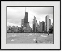 chicago-fall-framed-photo